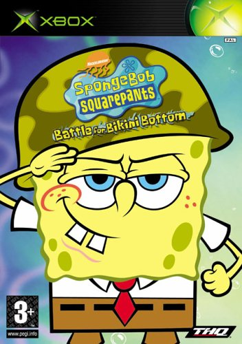 Spongebob Squarepants - Spongebob Squarepants : Battle for Bikini Bottom (Xbox)