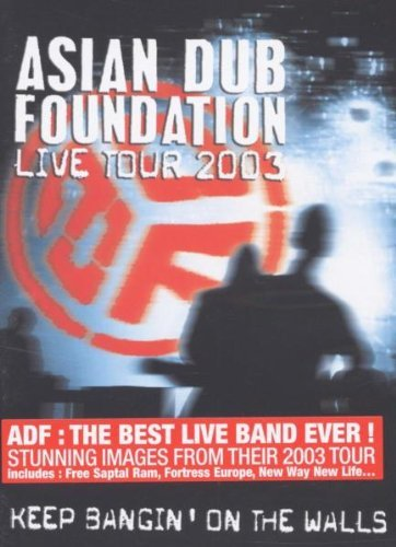 Asian-Dub-Foundation-Keep-Bangin-039-On-The-Walls-DVD-CD-3YVG-FREE-Shipping