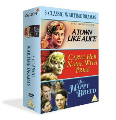 3 Classic Wartime Dramas - A Town Like Alice/This Happy Breed/Carve Her Name with Pride