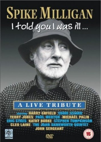Spike-Milligan-I-Told-You-I-Was-Ill-2003-DVD-CD-TZVG-FREE-Shipping