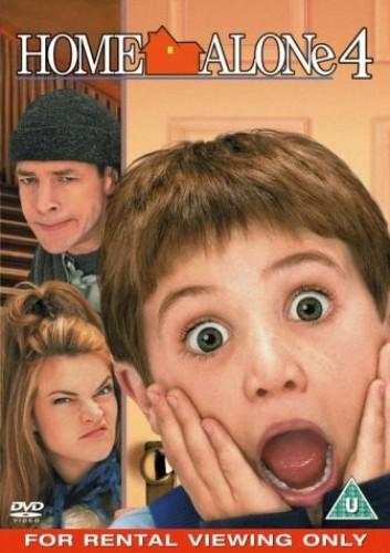 HOME ALONE 4  - RENTAL DVD