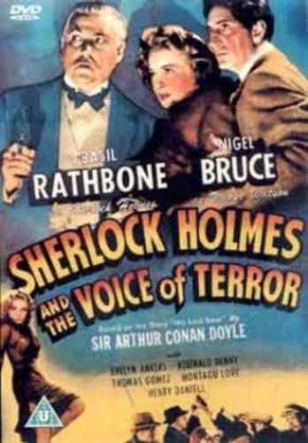 Sherlock-Holmes-And-The-Voice-Of-Terror-1942-DVD-CD-C8VG-FREE-Shipping