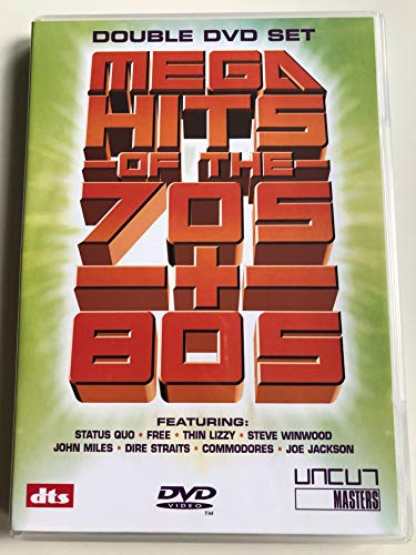 Various-Various-Artists-Mega-Hits-of-the-70s-amp-80s-DVD-Various-CD-WUVG