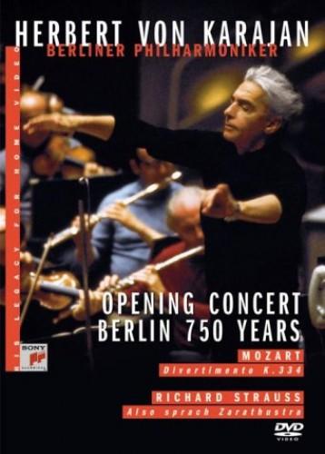 Herbert Von Karajan - Opening Concert - Berlin 750 Years