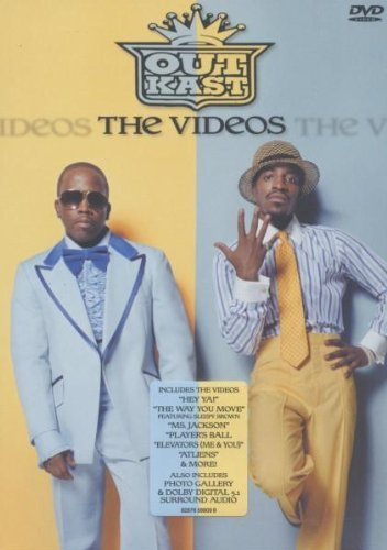 Outkast-The-Videos-DVD-2004-CD-16VG-FREE-Shipping