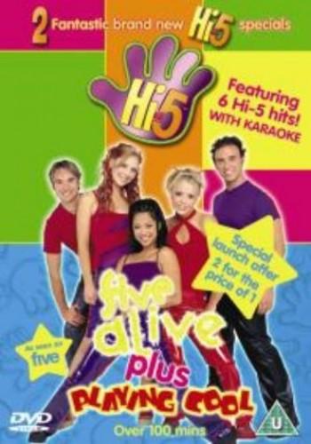 Hi-5-Five-Alive-Playing-Cool-DVD-CD-KIVG-FREE-Shipping