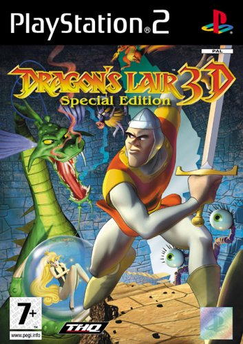 Dragon's Lair 3d - Dragons Lair 3D : Special Edition (PS2)