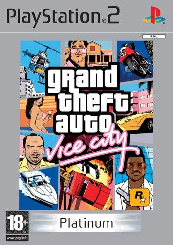 Grand Theft Auto: Vice City - Platinum (PS2)