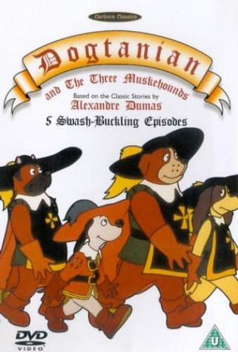 Dogtanian-and-the-Three-Muskehounds-Volume-1-Episodes-1-5-DVD-CD-SOVG
