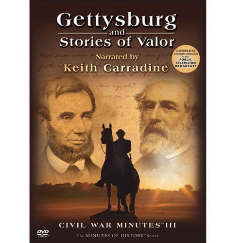 Gettysburg-and-Stories-of-Valor-CIVIL-WAR-MINUTES-III-2-DVD-Box-CD-0QVG