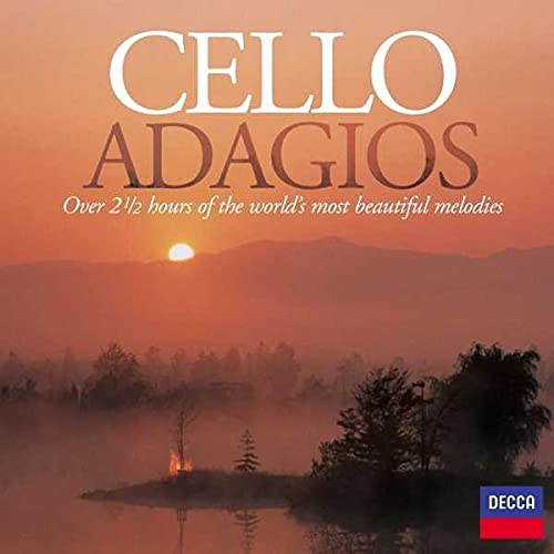 Cello Adagios By Various Composers