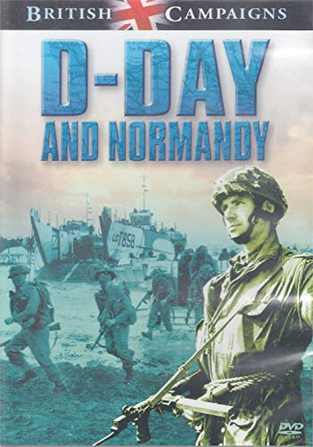 British-Campaigns-D-Day-And-Normandy-DVD-CD-TEVG-FREE-Shipping
