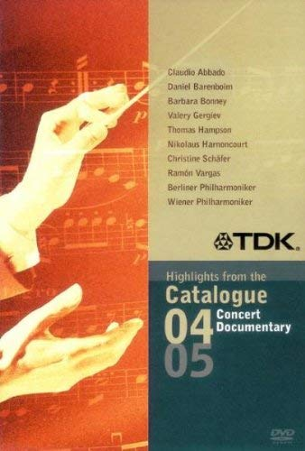 Tdk - Highlights From The Catalogue 2004-05: Concert Sampler