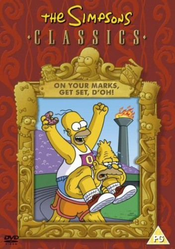 The-Simpsons-The-Simpsons-On-Your-Marks-Get-Set-D-The-Simpsons-CD-P6VG