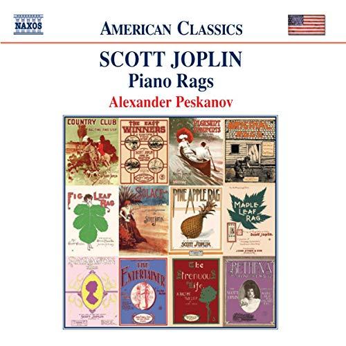 Joplin, Scott - Piano Rags By Joplin, Scott