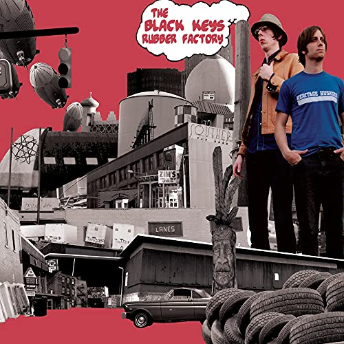The Black Keys - Rubber Factory By The Black Keys