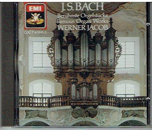 JS Bach Famous Organ works (UK Import)