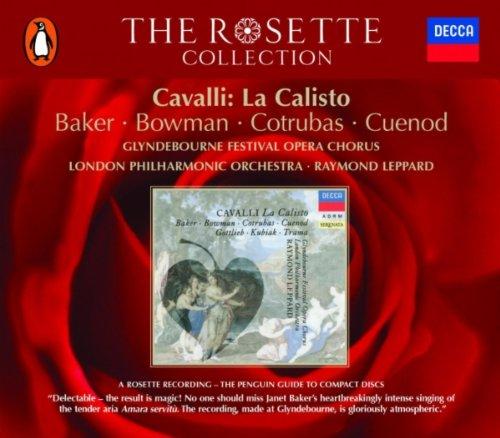 Raymond Leppard - Cavalli: La Calisto - realised by Raymond Leppard