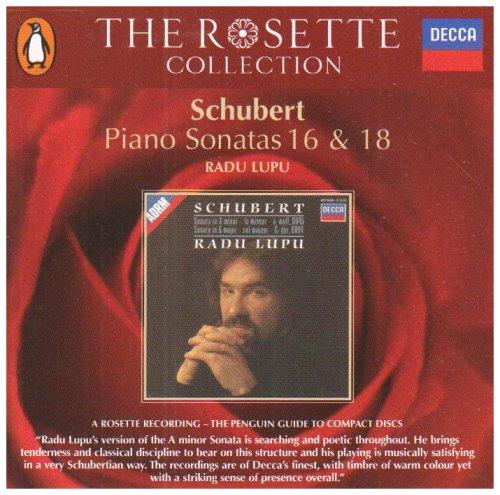 Radu Lupu - Schubert: Piano Sonata Nos.16 & 18