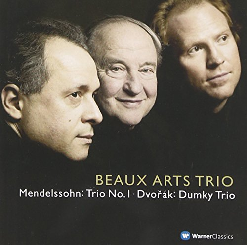 """Menahem Pressler - Dvorak : Piano Trio No 4, """"Dumky"""" & Mendelssohn : Piano Trio No 1"""
