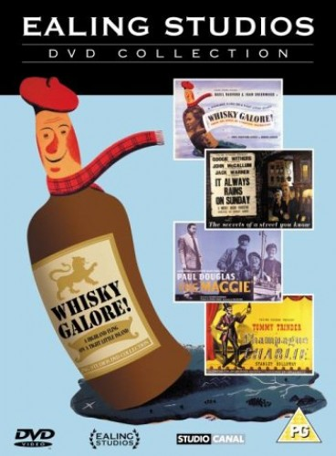 Ealing Studios DVD Collection - Champagne Charlie/The Maggie/It Always Rains On Sunday/Whisky Galore