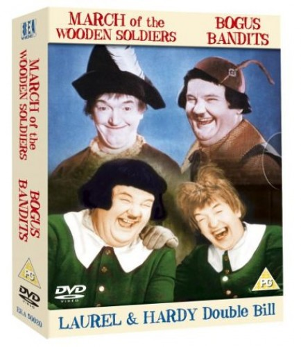 Laurel And Hardy - Bogus Bandits / March Of The Wooden Soldiers