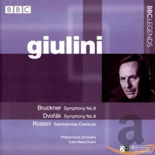 Bruckner: Symphony No. 8 / Dvorák: Symphony No. 8 / Rossini: Semiramide Overture