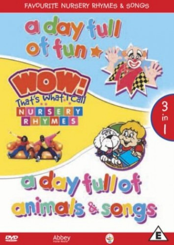 Favourite-Nursery-Rhymes-And-Songs-DVD-CD-V2VG-FREE-Shipping