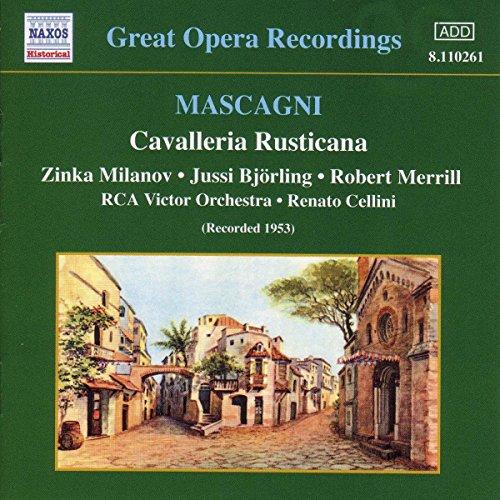 Cavalleria Rusticana (Cellini, RCA Victor Orchestra)