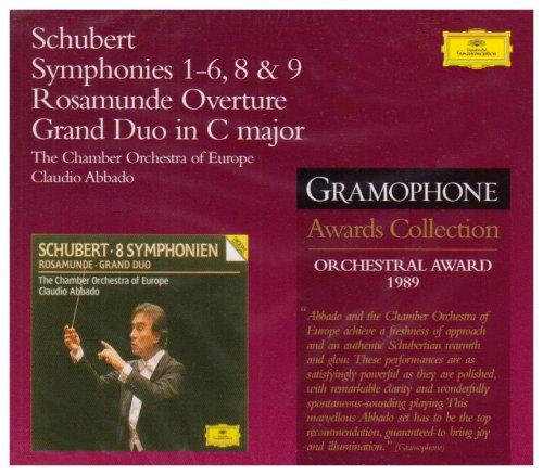 Franz Schubert: Symphonies 1-6, 8 & 9 / Rosamunde Overture / Grand Duo in C Major