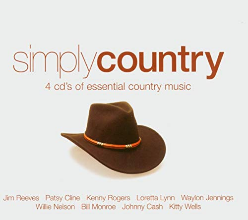 Various Artists - Simply Country: 4cd's of Essential Country Music