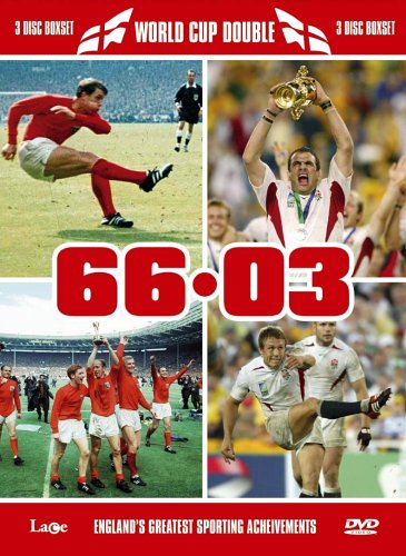 World Cup Double - England Football 1966 World Cup Final / England Rugby 2003 World Cup Final (3 Dis