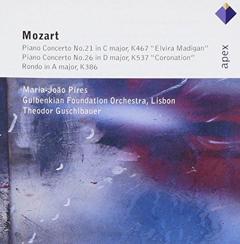 Maria-Joao Pires, Theodor Guschlbauer & Gulbenkian Orchestra - Mozart : Piano Concertos Nos 21, 26 &