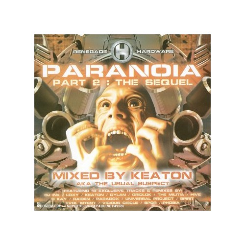 Various Artists - Paranoia 2 - The Sequel (Mixed By Keaton)