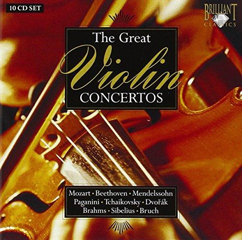 Various Composers - The Great Violin Concertos (Grubert, Dubach, Verhey)