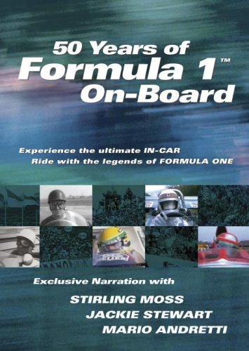 50-Years-of-Formula-1-On-Board-DVD-CD-AMVG-FREE-Shipping
