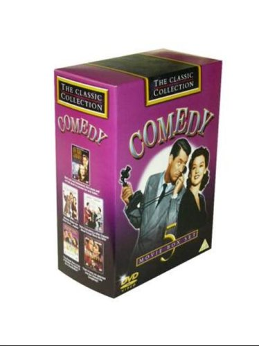 Jane Russell - Comedy: The Classic Collection (5 DVD Box Set - My Man Godfrey; His Girl Friday; My D