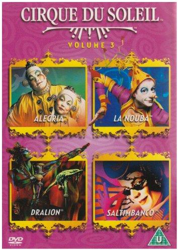 Cirque Du Soleil: Vol. 3 - Allegria / La Nouba / Dralion / Saltimbanco  (1994-2003)