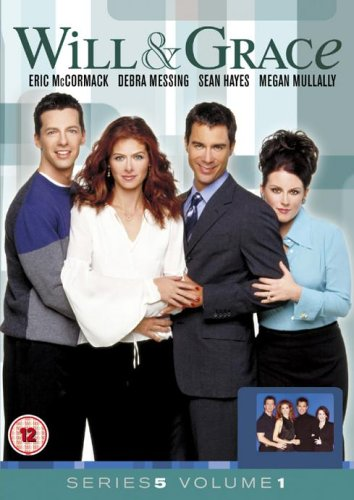 Will-and-Grace-Series-5-Vol-1-DVD-CD-XKVG-FREE-Shipping