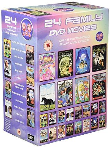 24 Amazing Family DVD Movies - 24 Amazing Family DVD Movies