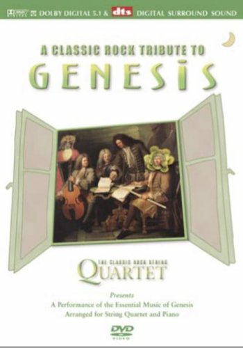 Genesis Chamber Suite - The Classic Rock Quartet - Genesis - A Classic Rock Tribute