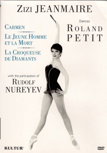 Zizi Jeanmarie Dances Roland Petit - Carmen/Le Jeune Homme Et La Mort/La Croqueuse De Diamants