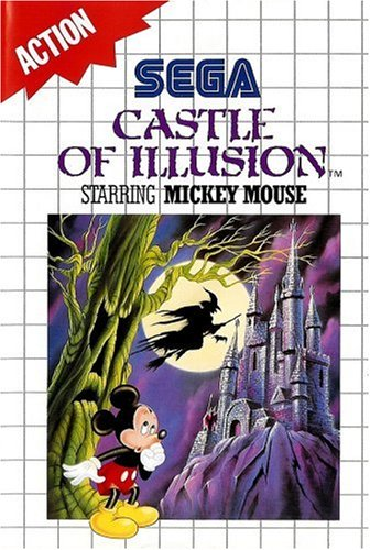 Castle of illusion - Master System - PAL