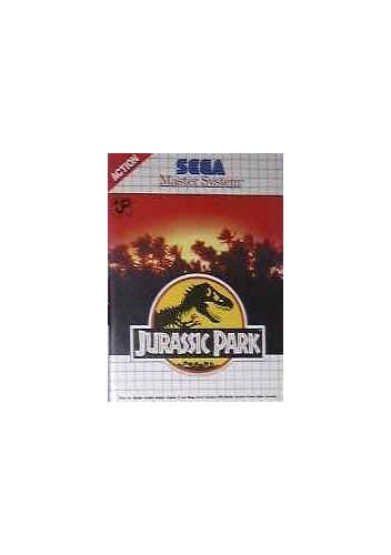 Jurassic Park - Master System - PAL