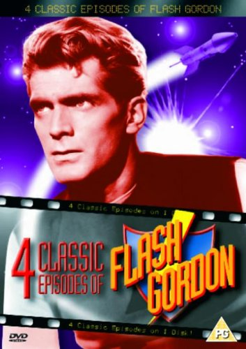 Flash Gordon - 4 Classic Episodes - The Claim Jumpers / Akim The Terrible / The Breath Of Death / De