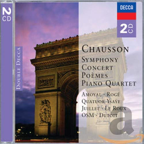 Various Artists - Chausson: Symphony / Concert / Poemes, etc.