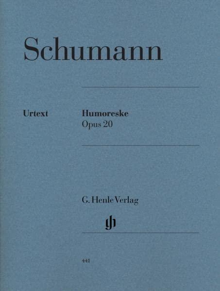 Humoresque B flat major op. 20 - piano - (HN 441) By Wolfgang Boetticher