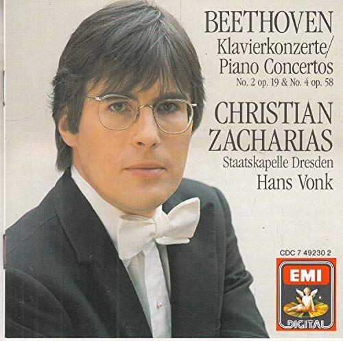 Christian Zacharias - Beethoven: Klavierkonzerte Piano Concertos No. 2 & No. 4 (UK Import) By Christian Zacharias