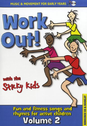 The Sticky Kids - Work Out! With The Sticky Kids (Music CD) - Work out! With the Sticky Kids By The Sticky Kids - Work Out! With The Sticky Kids (Music CD)