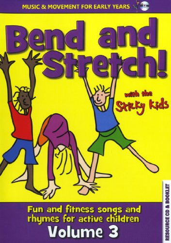 The Sticky Kids - Bend And Stretch! With The Sticky Kids (Music CD) - Bend and Stretch! With the Sti By The Sticky Kids - Bend And Stretch! With The Sticky Kids (Music CD)